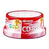 Memorex 25-Pack Spindle of CDRW80 Discs