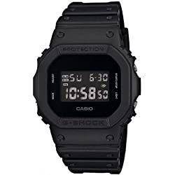 Casio - Men's Watches - Casio G-Shock - Dw-5600Bb-1Er Monotone Matte Black Watch
