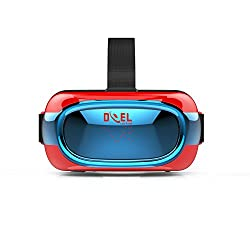 DOEL VR506 3D Virtual Reality Headset with inbuilt Android APP Store, Youtube with Wi-fi and Bluetooth Support (1GB RAM, 8GB MEMORY EXPANDABLE UPTO 32GB) Experience VR without Mobile