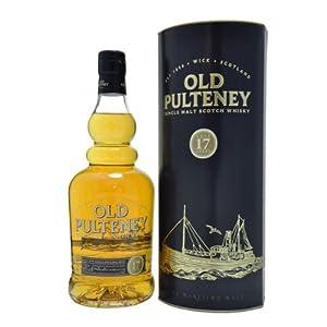 Old Pulteney 17 Year Old Single Malt Scotch Whisky (Case of 6 x 70cl Bottles)