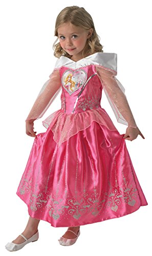 Rubie's IT610277-L -Costume per Bambini Sleeping Beauty Love Heart , L