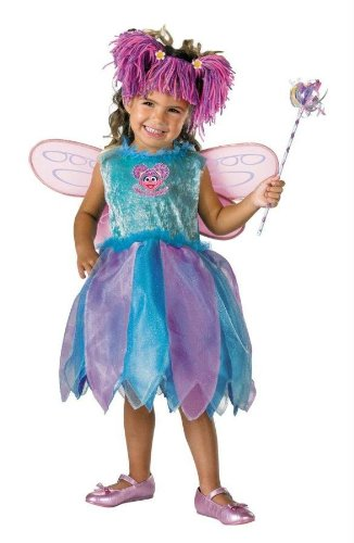 Costumes For All Occasions Dg6915L Abby Cadabby Deluxe 4 To 6
