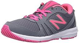 New Balance Women\'s WX577V3 Training Shoe Cross-Trainer Shoe, Grey/Pink, 10 B US