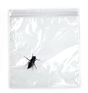 Fred and Friends LUNCH BUGS Zip-to-Lock Sandwich Bags, 24 ct