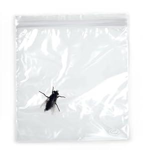 LUNCH BUGS Zip-to-Lock Sandwich Bags, 24 ct