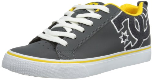 DC Shoes Mens Court Vulc Se M Shoe Low-Top 303187 DSD/Grey 5 UK, 40.5 EU, 6 US