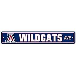 University of Arizona Wildcats College NCAA Sports Team Collegiate Logo Home Office Garage Wall Street Sign - WILDCATS AVE