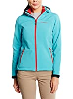 Black Crevice Chaqueta Soft Shell (Azul / Rojo)