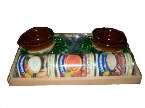 Chincoteague Seafood Crab Soup Lover's Sampler, 7-Pound