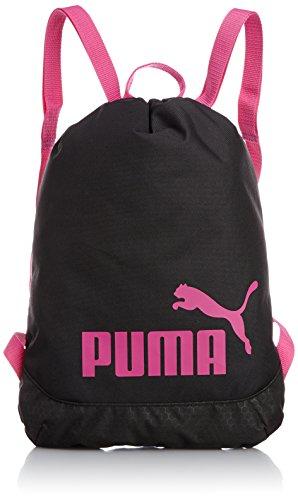 [プーマ] PUMA スポーツバック アクティブ TR ジムサック 073307 03 (ブラック/フューシア パープル)
