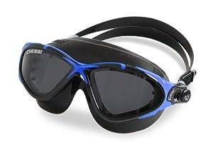 Cressi Swim Women's Planet Lady Swimming Goggles - Black Blue,TLS