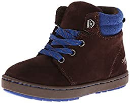 OshKosh B\'Gosh Harvey Lace Up Boot (Infant/Toddler/Little Kid),Brown/Blue,10 M US Toddler