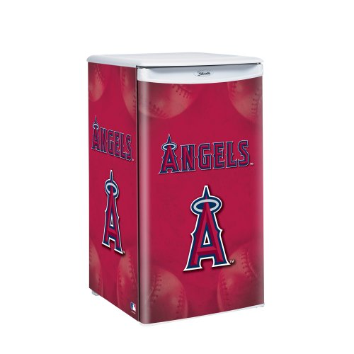 Mlb Los Angeles Angels Counter Top Refrigerator front-181367