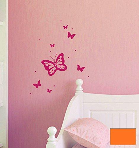 Sticker-mural-belle-papillon-papillons-m1522-haut-choix-de-couleur