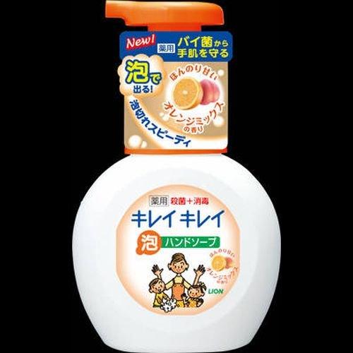 キレイキレイ薬用泡HSオレンジ ポンプ 250ml