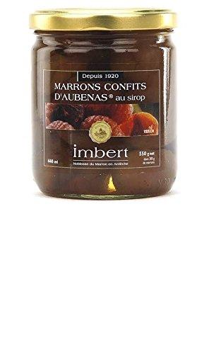 Marrons confits d'Ardèche, maison Imbert