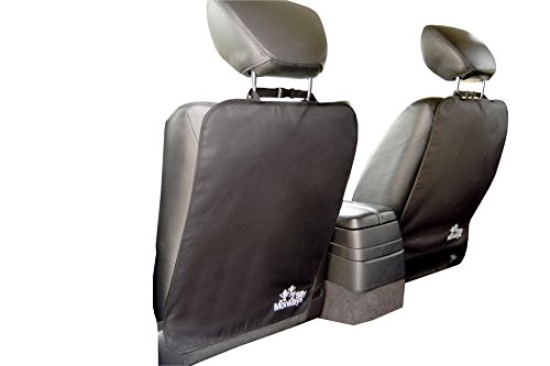 The Original iGuard Kick Mat (2-pack) by 2 Silly Monkeys - Deluxe Auto Car Seat Back Protector for Kids - 1