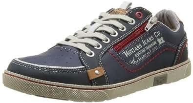 Mustang 4073-302-800, Herren Sneakers, Blau (800 dunkelblau), 41 EU