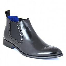 Steve Madden Men\'s Trivea Chelsea Boot, Black, 10 M US