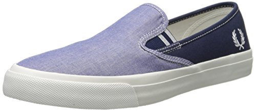 Fred Perry Turner Slip On Rich Blue 46