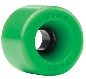 Buy Kryptonics Star Trac 60mm 86a Green Skateboard Wheels (Set of 4) by Kryptonics