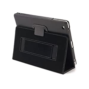 Devicewear The Peak Vegan Leather Case  for the New iPad 3  - Side