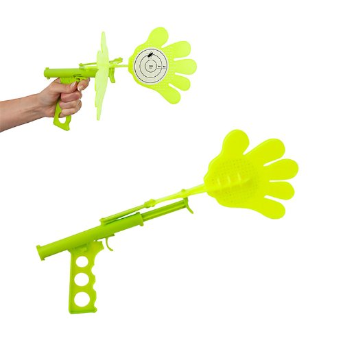 ckb-ltdr-hand-fly-swatter-novelty-gun-clap-smack-plastic-for-bugs-insect-mosquito-wasps-and-other-pe