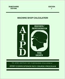 machine shop courses