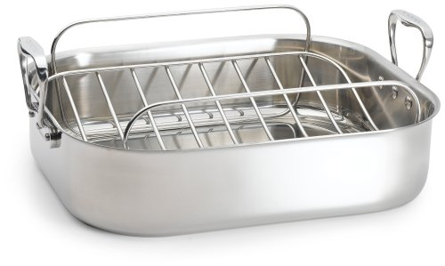 Chef's Design 16.75 Inch Stainless Steel French Roaster
