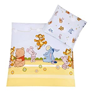 Julius Zöllner 8510010003 - Baby Pooh and Friends Bettwäsche