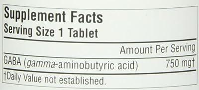Source Naturals GABA 750mg, 90 Tablets