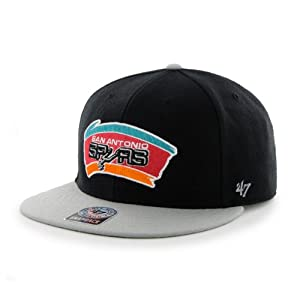 NBA San Antonio Spurs Big Shot Snapback Adjustable Cap, One Size, Black