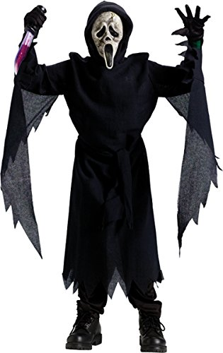 Ghostface Zombie Collector ED Child Costume Size 12-14 Large