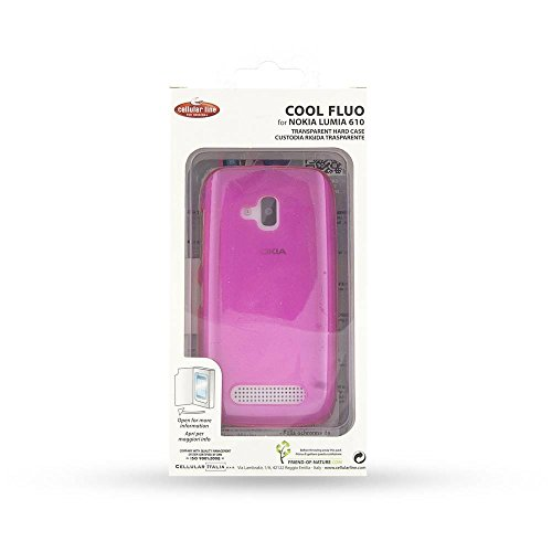 CELLULAR LINE Steifes Etui Hinterteil für Nokia Lumia 610 rosa