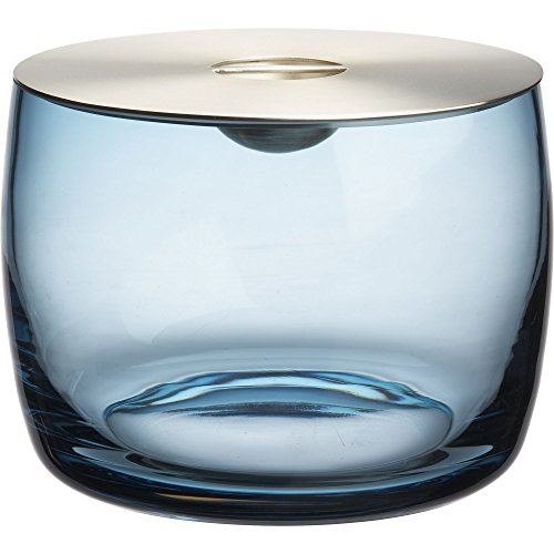 Crate And Barrel Orb Aqua Ice Bucket