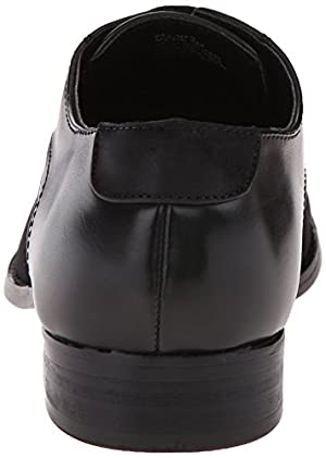 Kenneth Cole Unlisted Men's Delmar Oxford, Black, 8.5 M US