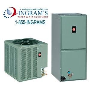 Rheem Complete Split System Heat Pump 2.5 Ton 13.5 SEER 11.5 EER. RHSLHM Series