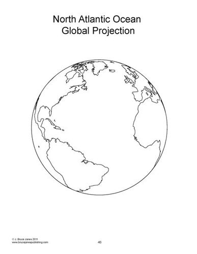 World Map, globe, Blank, Outline Map, from World Maps and Globes