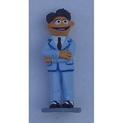 "Walter Muppets Most Wanted PVC Figure 3"" tall"