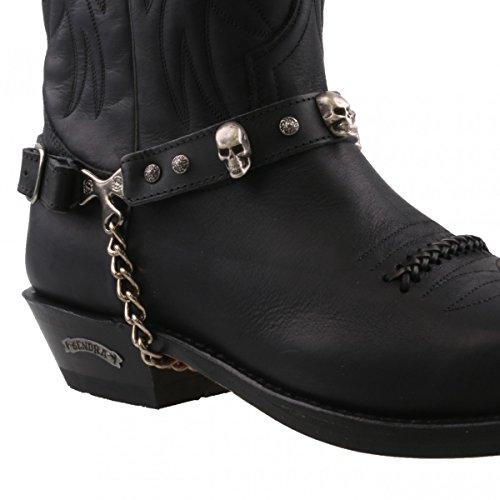 Sendra Boots , Comfort Nero nero