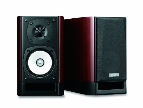 ONKYO 2ウェイスピーカーシステム ハイレゾ音源対応 (2台1組) 木目 D-112EXT(D)