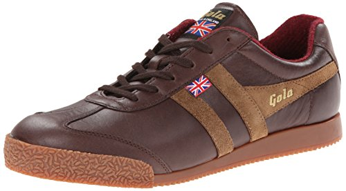 Gola Harrier 1905, Sneaker uomo marrone Brown, marrone (Brown), 42.5