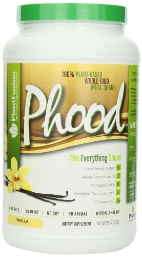 Plant Fusion Phood Shake, Vanilla, 31.8 Ounces