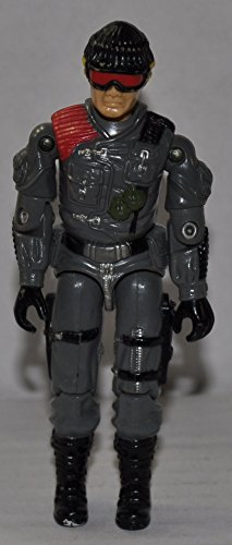Vintage Low-Light (1986) - Hasbro Action Figure - Doll Toy G I Joe Cobra - Loose Out of Package & Print (OOP) - 1