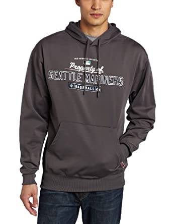MLB Seattle Mariners Property of Long Sleeve Hooded Fleece Pullover by Majestic