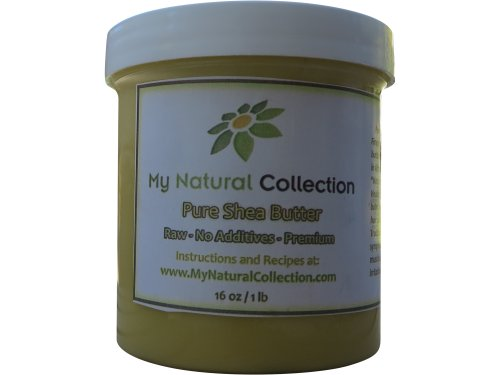 Pure Real Organic African Shea Butter – MyNaturalCollection 1lb-16oz 100% Natural Raw Organic Shea Butter, the one-for-all Beauty Product for Skin Care, Hair Care, Body Butters – The African Secret of Perfect Skin and Traditional Balm – 100% Satisfaction Guarantee