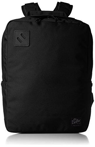 [ドリフター] Drifter SQUARE BACK PACK DF043095 BLACK ×BLACK (ブラックブラック)