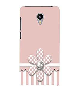 Artificial Flower 3D Hard Polycarbonate Designer Back Case Cover for Meizu M2