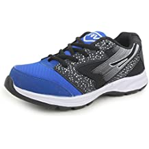 Trase SRV Men's Drift Black/Blue Sports Running Shoe