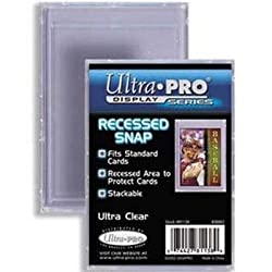 Ultra-Pro Recessed Snap Card Holder (Quantity of 100)